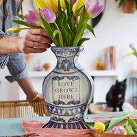 Personalised Flat Vase