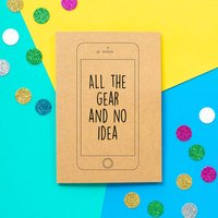 'All The Gear' Funny Father's Day Card