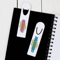 Personalised Pop Art Name Bookmark
