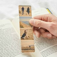 Personalised Photo Strip Leather Bookmark