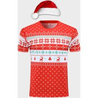 Mens Christmas Jumper Fitness/Running T Shirt