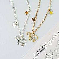 Personalised Ursa Major Constellation Bear Necklace