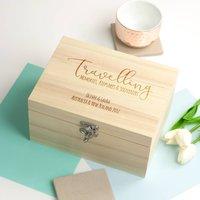 Personalised Travelling Keepsake Box