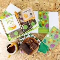 'Gardening' Mint Tea, Treats And Tea Gift