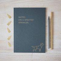 Springer Spaniel Notebook