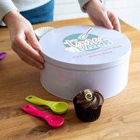 Personalised Time To Bake Cake Tin