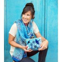 Passion Blue Clutch Bag