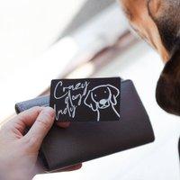 Personalised Pet Keepsake Wallet Card
