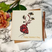 Love Grows Valentines Day Card