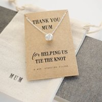 Thank You Mum Knot Necklace