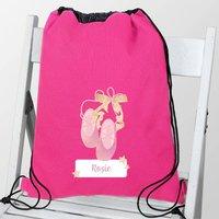 Personalised Pink Ballet Kit Bag