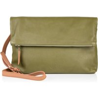 The Rena Bag, Moss Green/Green/Taupe