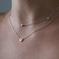 Delicate Charm Set Of Two Necklaces