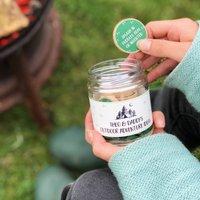 Personalised Daddy's Outdoor Adventure Ideas Jar