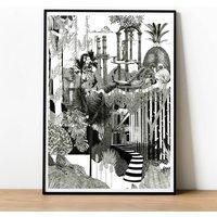 Botanical Jungle Print