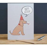 Golden Cocker Spaniel Birthday Card