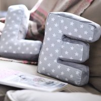 Soft Fabric Letter Cushions
