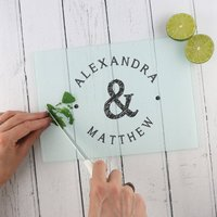 Personalised 'Name' Chopping Board