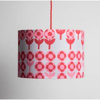 Small Verdure Lampshade In Rose