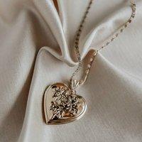 Valentina Heart Locket Necklace