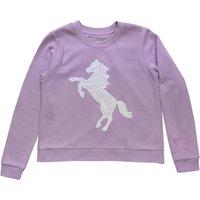 Cotton Applique Horse Sweat Shirt