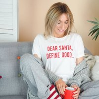 Dear Santa Define Good Christmas Eve Pyjama Set