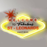 Personalised Welcome To Fabulous LED Neon Sign