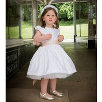 Sophia Flower Girl Dress 100% Silk