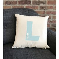Personalised Initial Cushion Various Colours