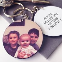 Mother's Day Personalised Photo Keyring
