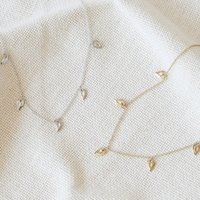 Unity Choker Necklace In Silver Or Gold, Silver