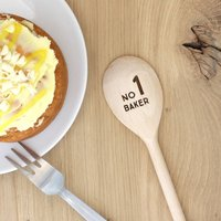Personalised Wooden Spoon For Baking