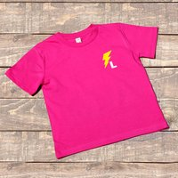 Children's Personalised Superhero Flash Age T Shirt