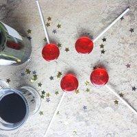 Five Mulled Wine Lollipops