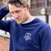 Embroidered Personalised Sports Legend Sweatshirt