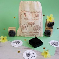 Floral Rubber Stamp Mother's Day Gift Set