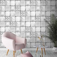 Tin Tiles Monochrome By Woodchip And Magnolia