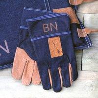 Personalised Denim Gardening Gloves