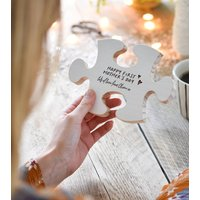 First Mother's Day Personalised Puzzle Piece Keepsake