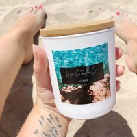 Ibiza Inspired Spring Summer Scented Candle