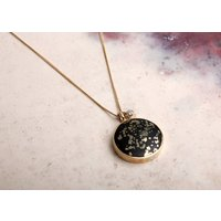 Stellar Large Necklace With Diamond Charm