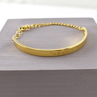 Ladies Slim ID Bracelet