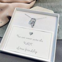 Knot Of Friendship Pendant Necklace