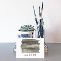 'Dog In A Fog' Card