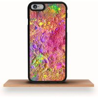 iPhone Case Abstract Colourful Paint Art