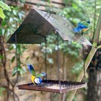 Hanging Bluetit Bird Feeder