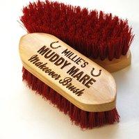 Personalised Muddy Mare Dandy Brush