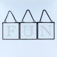 Letter Hanging Decoration By G Decor