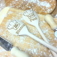 Bakers Hat Personalised Wooden Spoon