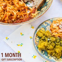 One Month Fresh Pasta Dishes E Gift Subscription
